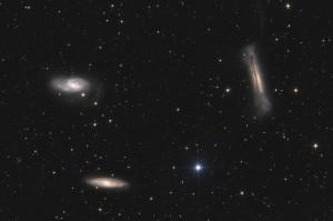 M65  M66   NGC3628  Leo Triplet